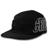Oversized Camp Hat Black