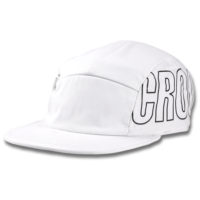 Oversized Camp Hat White
