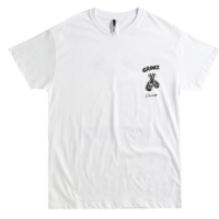 CROOZ X CHOCOMOO TSHIRT WHITE