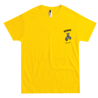 CROOZ X CHOCOMOO TSHIRT YELLOW